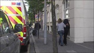 A series of raids were carried out on suspected brothels in Belfast