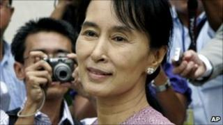 Aung San Suu Kyi (file image from November 2009)