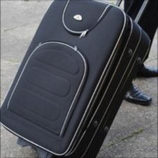 Suitcase found