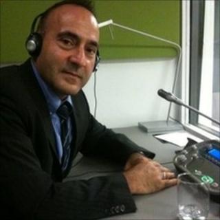 UN interpreter Angelo Macri