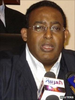 Somali Prime Minister Omar Abdirashid Ali Sharmarke, May 2010