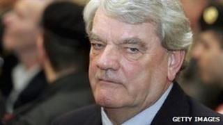 David Irving, on trial in Austria in 2006