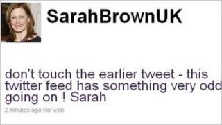 SarahBrown Twitter