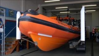 RNLI lifeboat generic