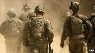 US soldiers in Afghanistan - 5 September 2010