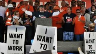 A Union rally