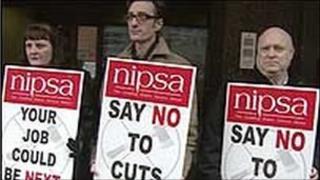 Nipsa said jobs would be lost across all sectors