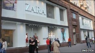 Zara store, Moscow