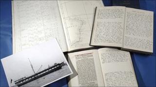 HMS Trincomalee diaries