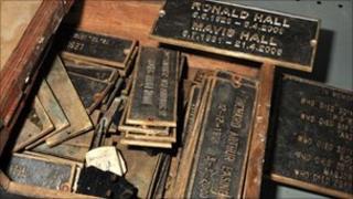 Memorial plaques stolen from churchyard