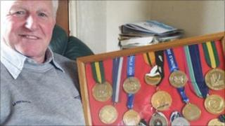 Willie Wood and some medals