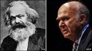 Karl Marx and Vince Cable