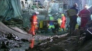 engineering workers