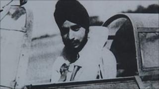 Squadron Leader Mahinder Singh Pujji