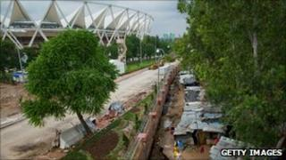 main stadium in Delhi