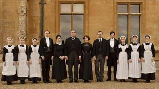 The below stairs cast of Downton Abbey