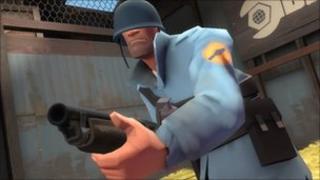 Team Fortress screenshot, Valve
