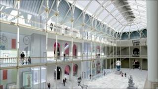 National Museums of Scotland site in Edinburgh (artist impression)