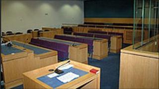 Crown Court interior