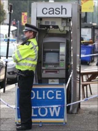 The cash machine in Hove