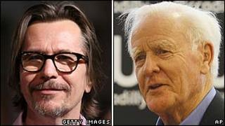 Gary Oldman and John Le Carre