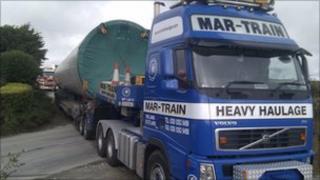 Turbine truck