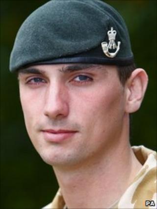 Rifleman Peter Matthews
