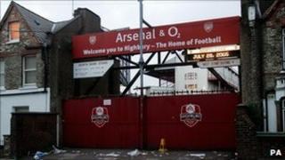 Arsenal old ground