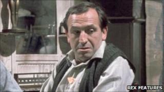 Leonard Rossiter as Rigsby in Rising Damp