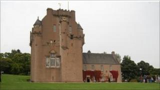 Crathes Castle, one of the NTS properties