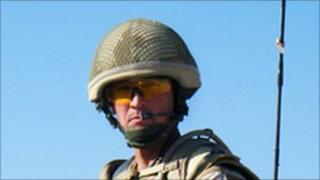 Colour Sergeant Paul Baines