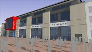 Planned Primark store at the revamped Bridges in Sunderland
