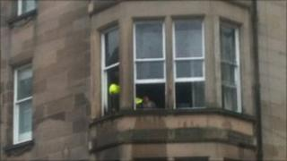 Second floor flat on the corner of Bruntsfield Place and Viewforth Gardens