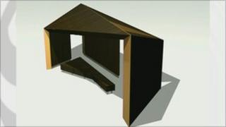 Design for new shelters on Bexhill seafront