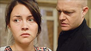 Lacey Turner and Jake Wood
