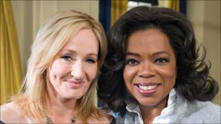 JK Rowling and Oprah Winfrey