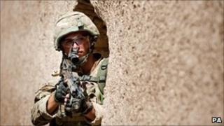 Royal Marine in Afghanistan