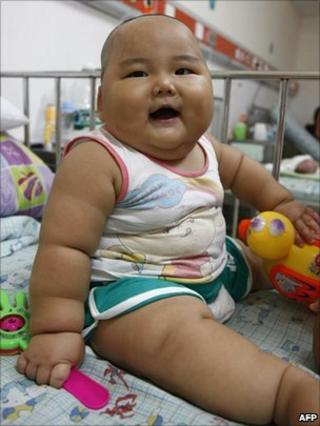File picture of a Chinese baby boy (August 2010)