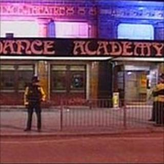 Police at Dance Academy