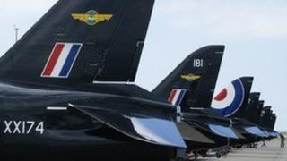 Hawks at RAF Valley