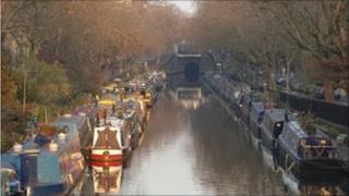 Little Venice on Regents Canal