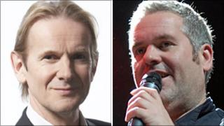 Andy Parfitt and Chris Moyles