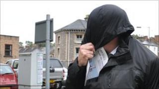 Francis Hutchinson leaving Taunton Crown Court
