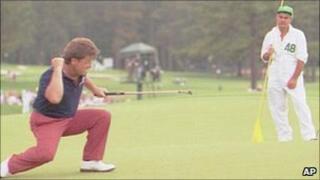 Ian Woosnam winning the 1991 US Masters