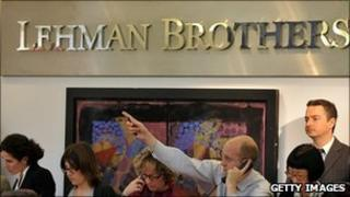 Bidders at Christie's Lehman Brothers auction