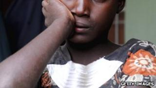A Nigerian woman (file image)