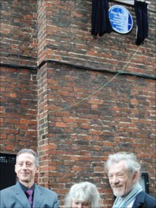 Sir Ian McKellen and Peter Tatchell