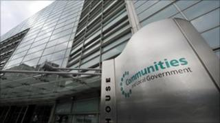 Department for Communities and Local Government in London.