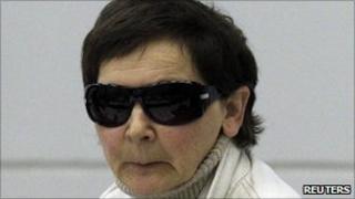 Verena Becker - at her trial in Stuttgart, Germany - 30 September 2010