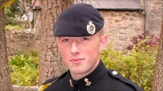 Sgt Paul Fox. Pic: MoD
